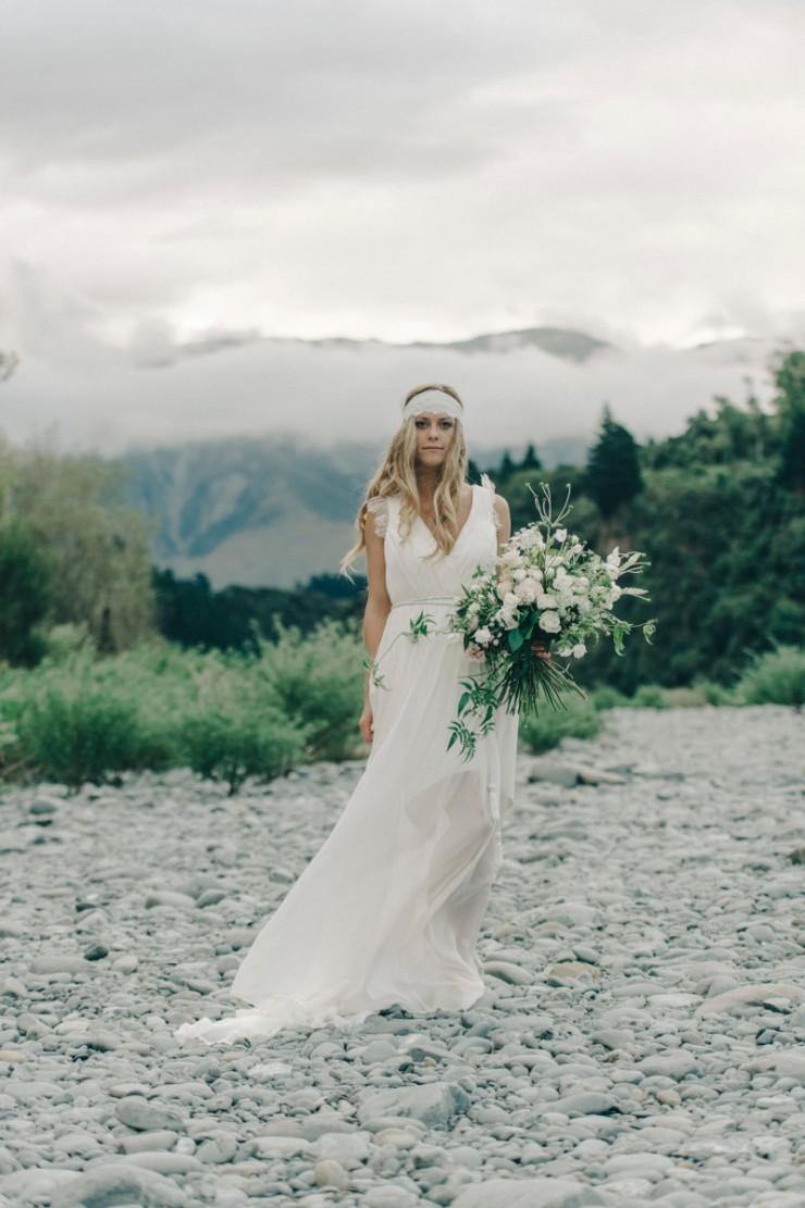 Caroline Campion wedding dress 2015