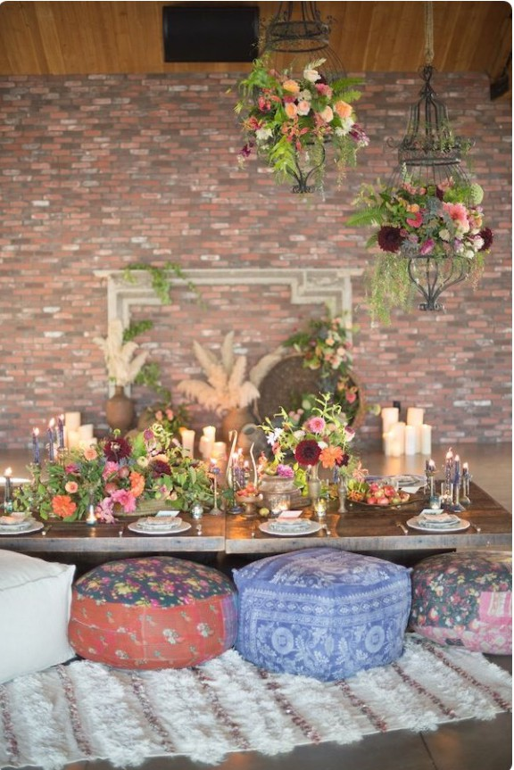 Boho table setting_Photography by Studio EMP