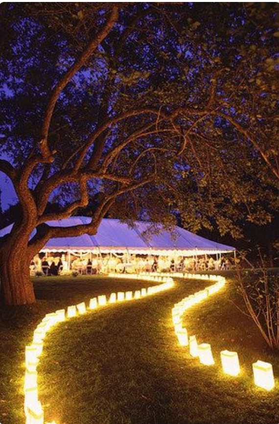 candle walk way_ceremony