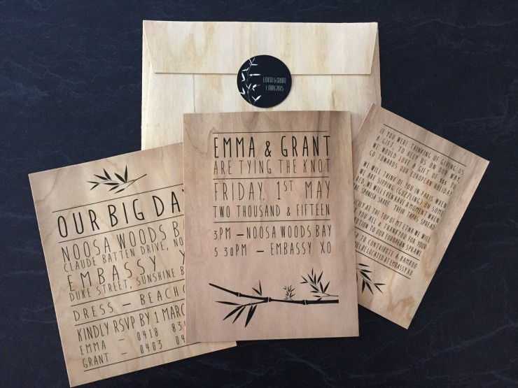 Emma and Grant_real wedding_invites