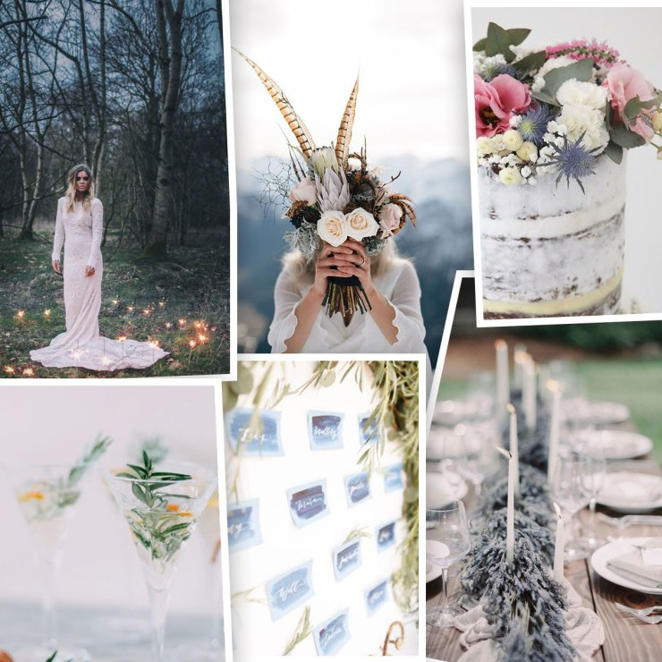 Winter Bohemian Inspiration board