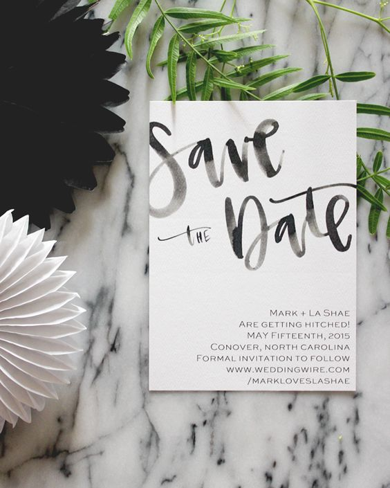 A Fabulous Fete Save the Date