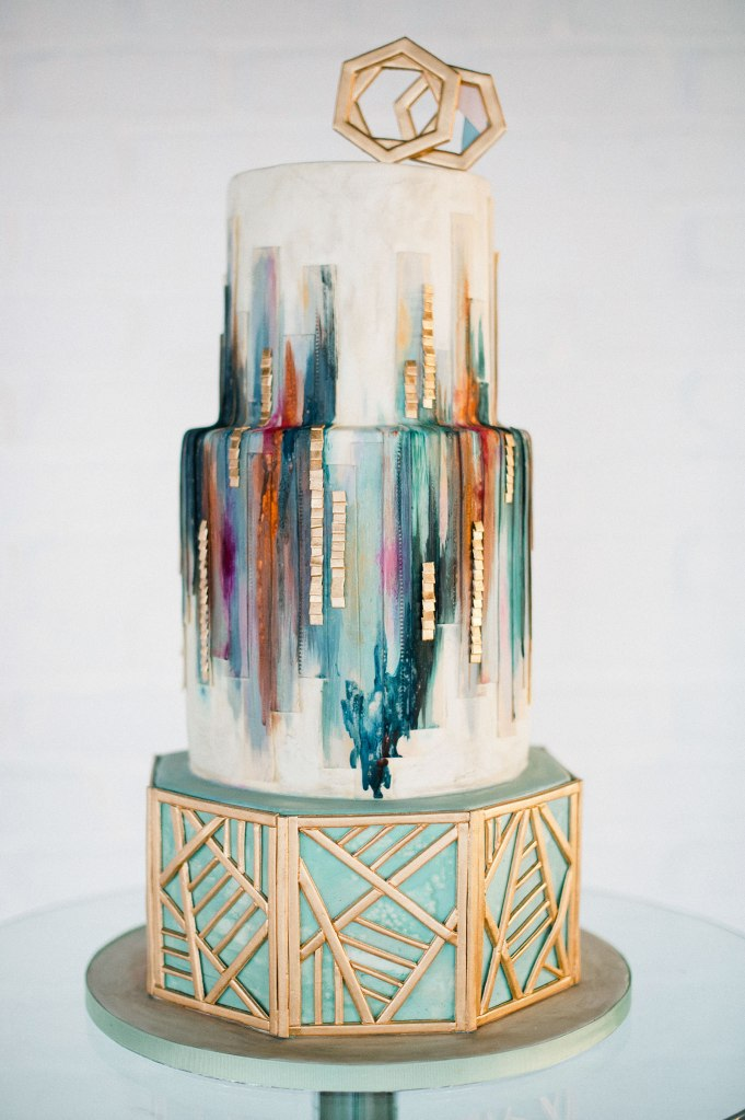an glam cake Olofson Design
