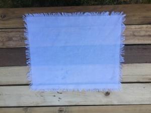 Hand frayed napkins Eve To Dawn