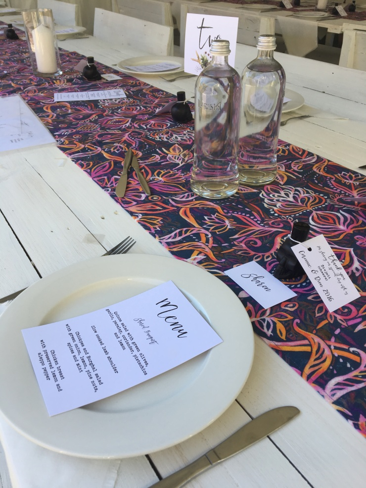 Eve to Dawn Tables to hire