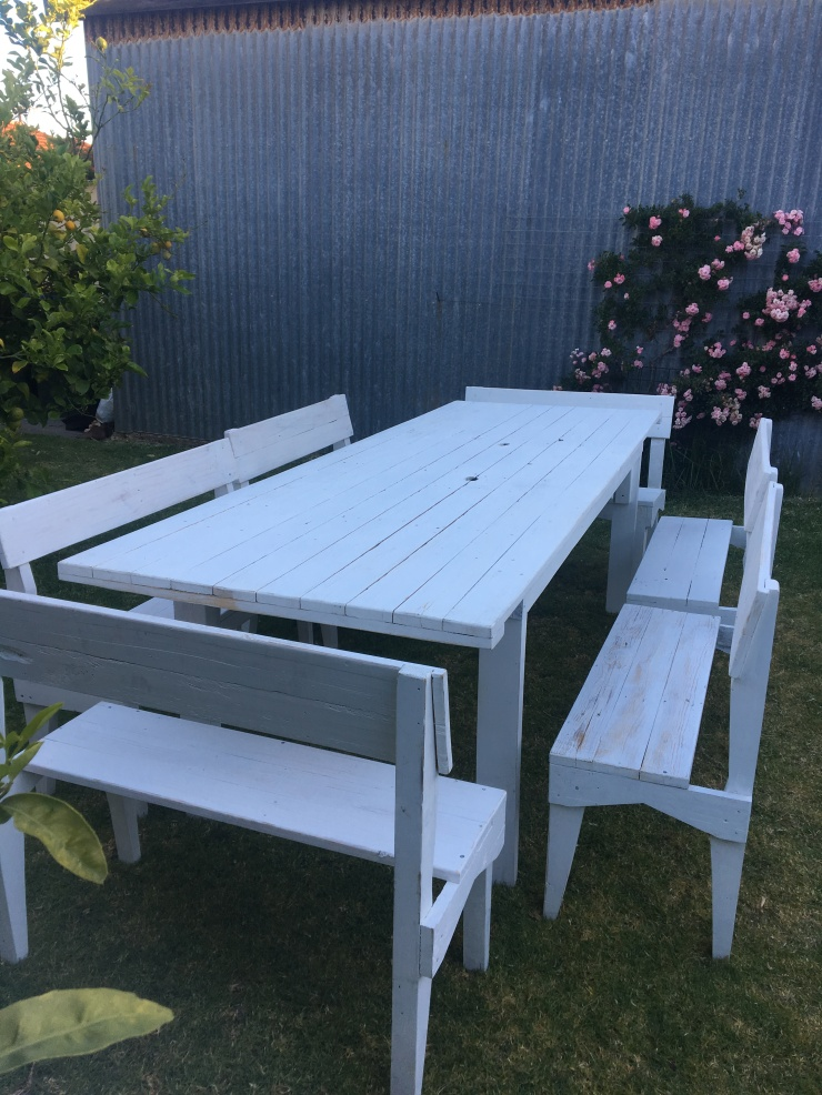 Eve To Dawn tables and benches to hire