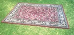 Large size red Persian rug