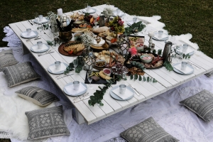 Boho picnic package with Cargo Catering